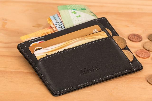 slabá peněženka