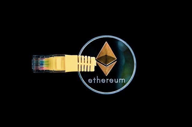 ethereum s připojením