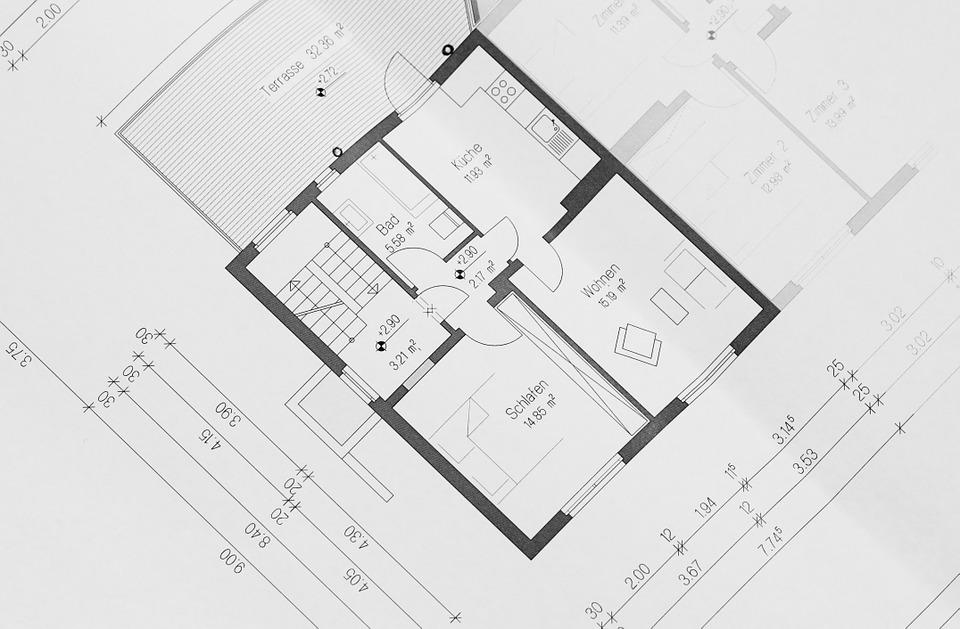 výkres od architekta